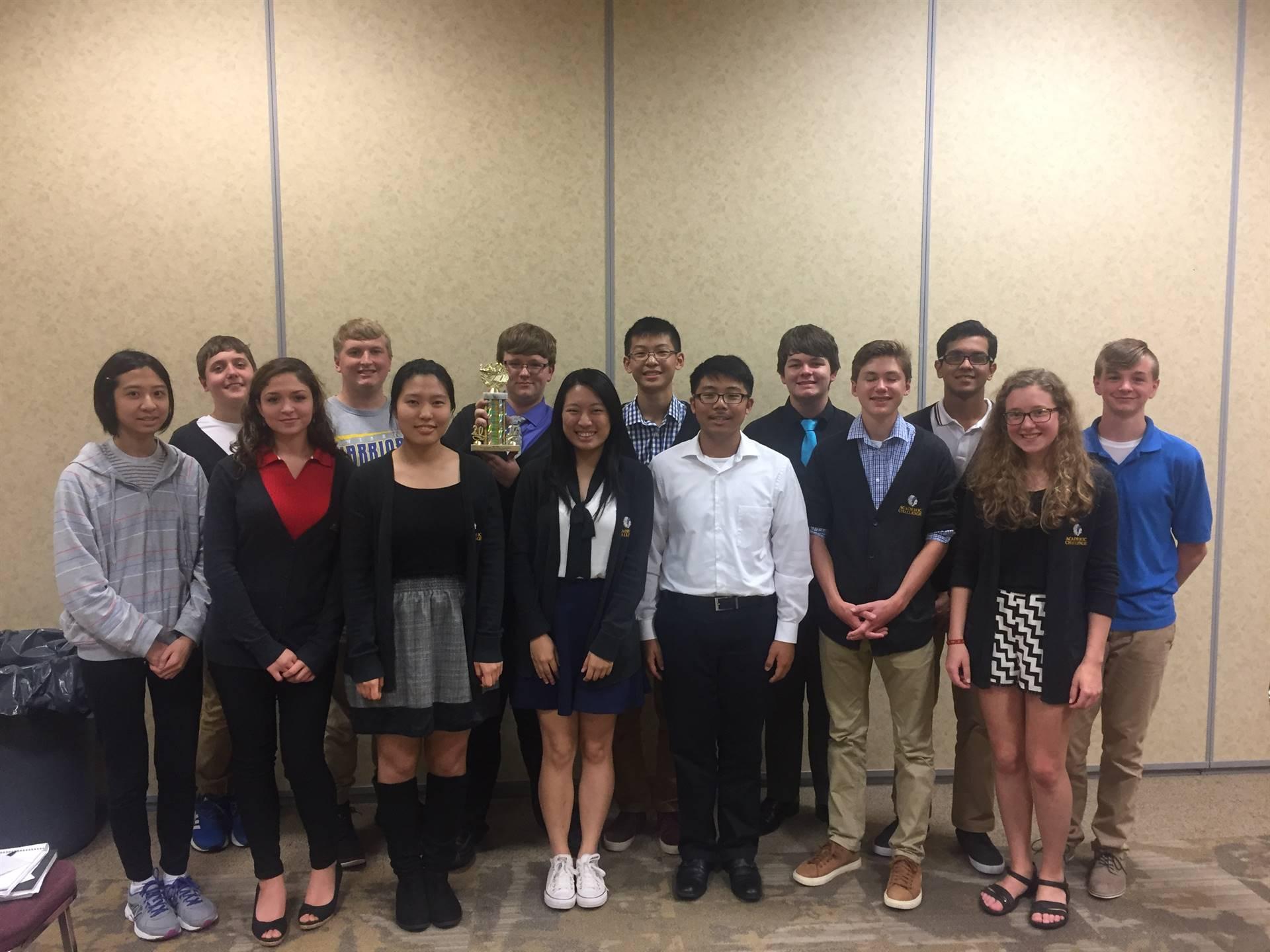 photo of the Academic Challenge Team