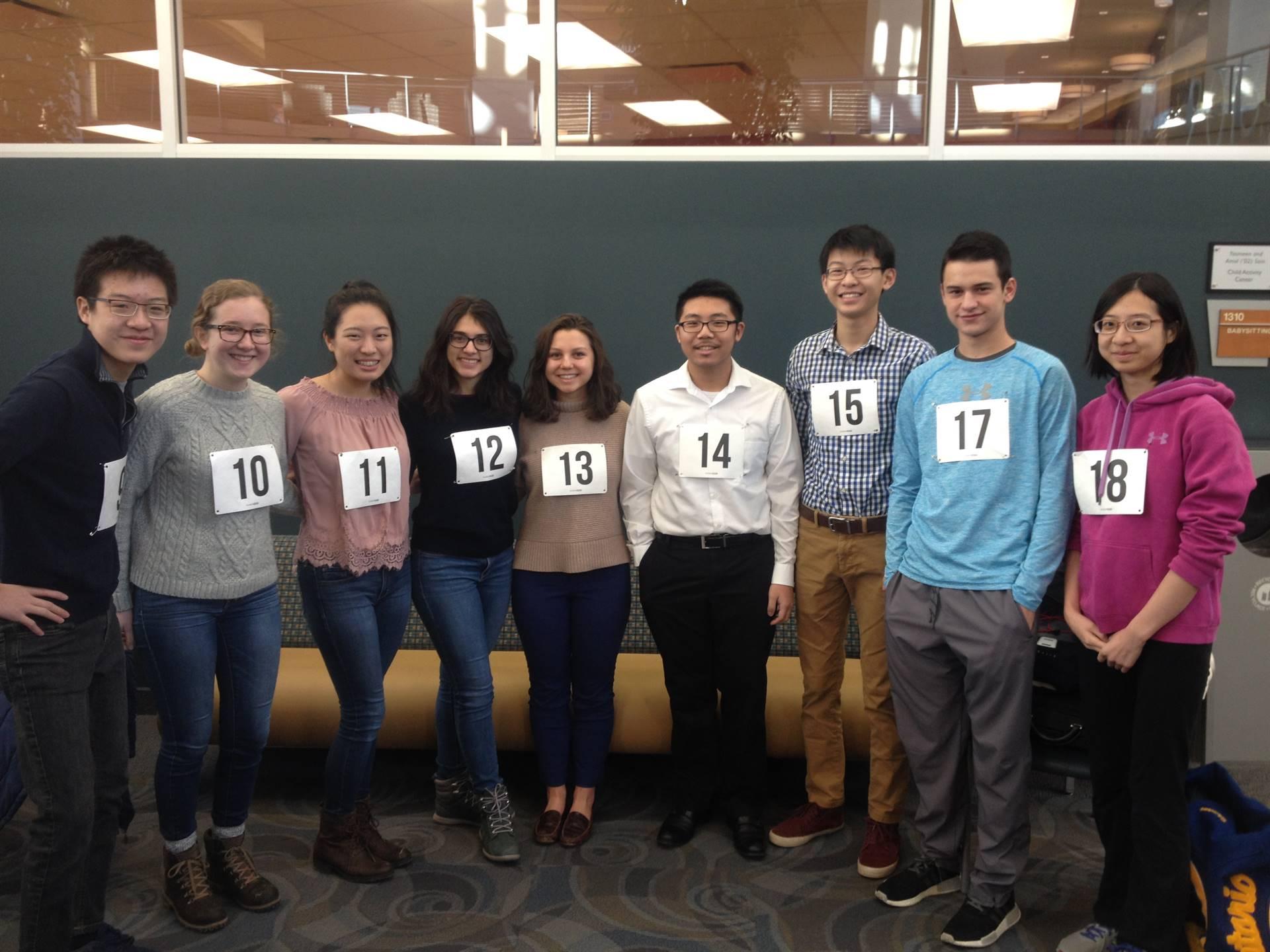 OHS Science Club members