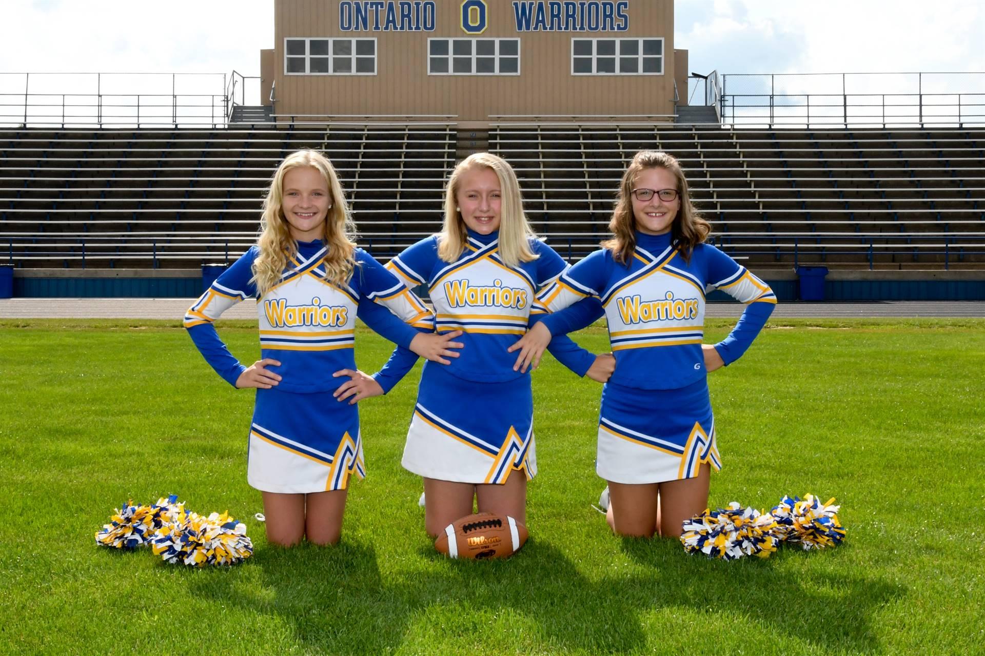 OMS Cheerleaders