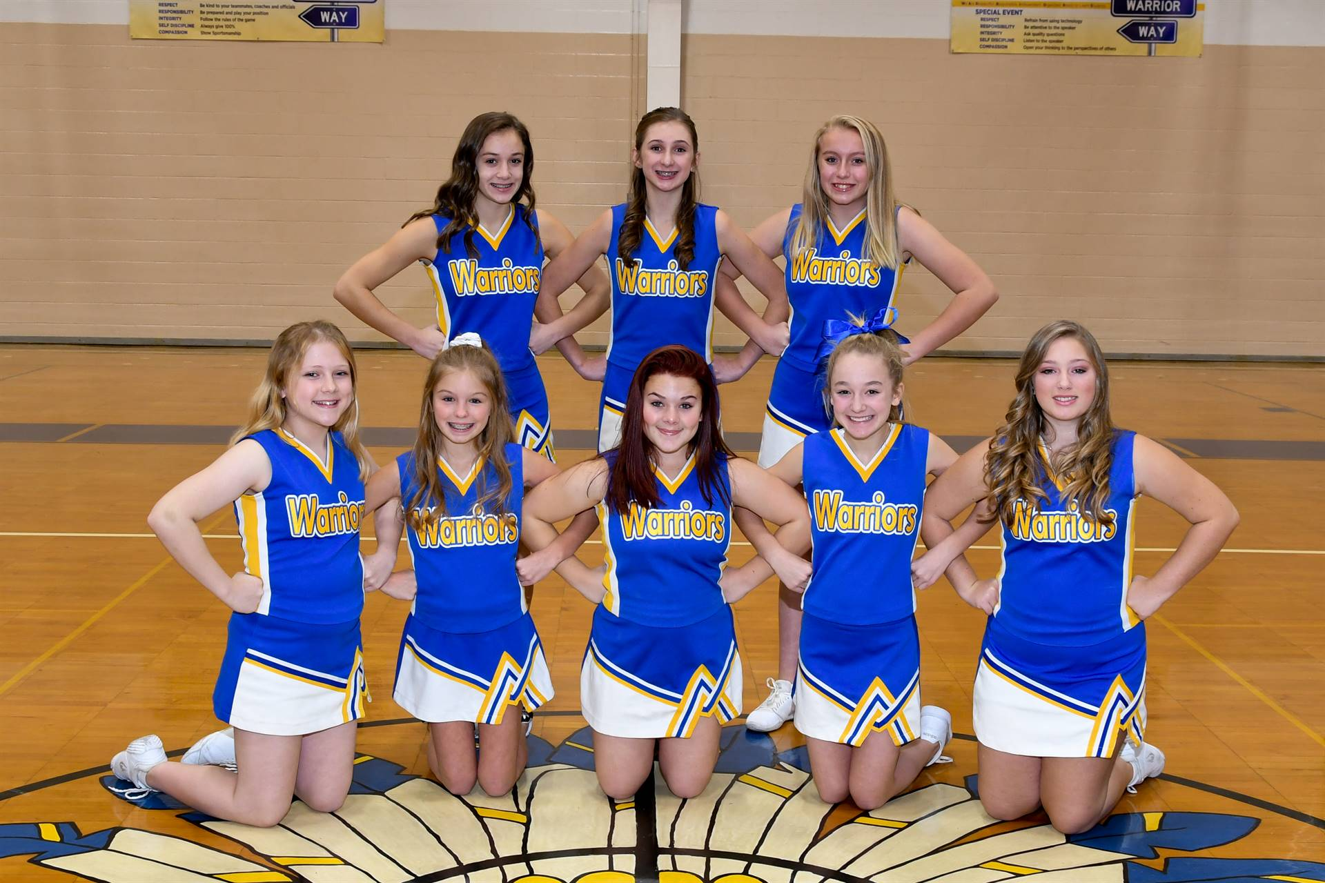 OMS Winter Cheerleaders