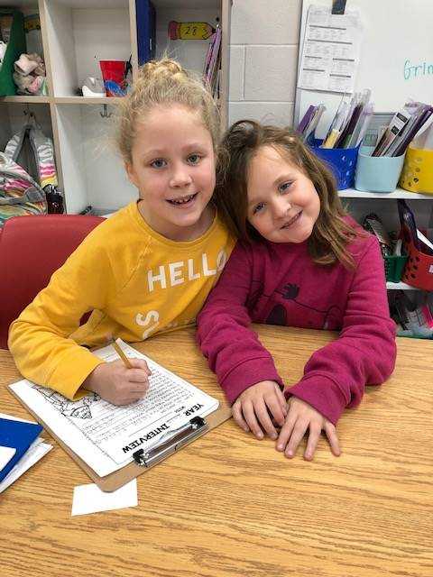 2nd grade students