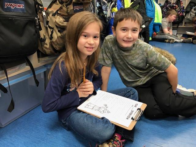 second graders