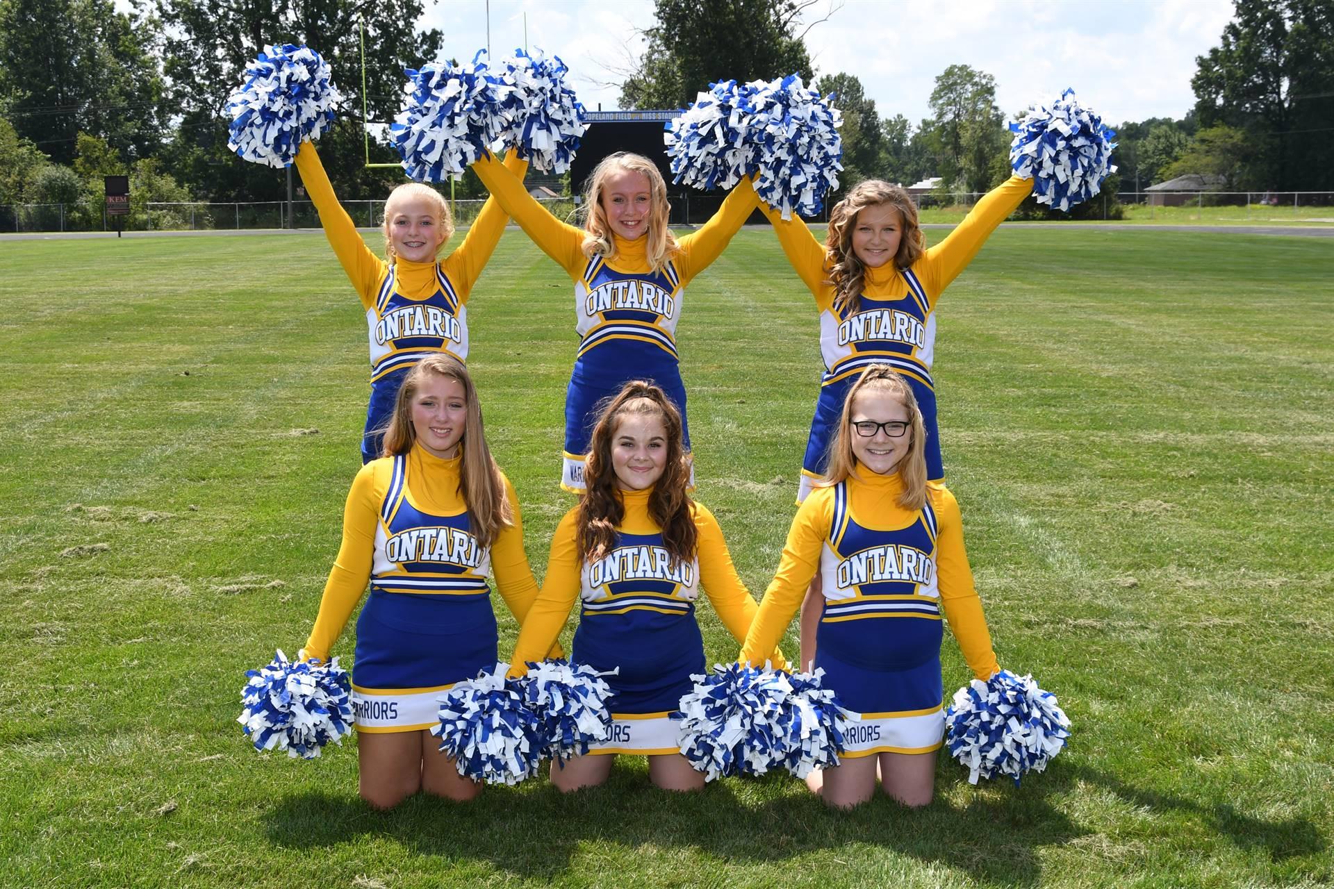 OMS Fall Cheerleaders