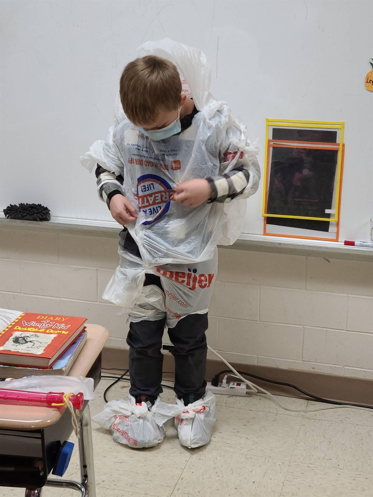 Third Grade Recycling
