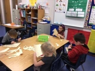 Preschoolers working