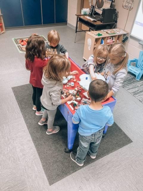 Preschool friends