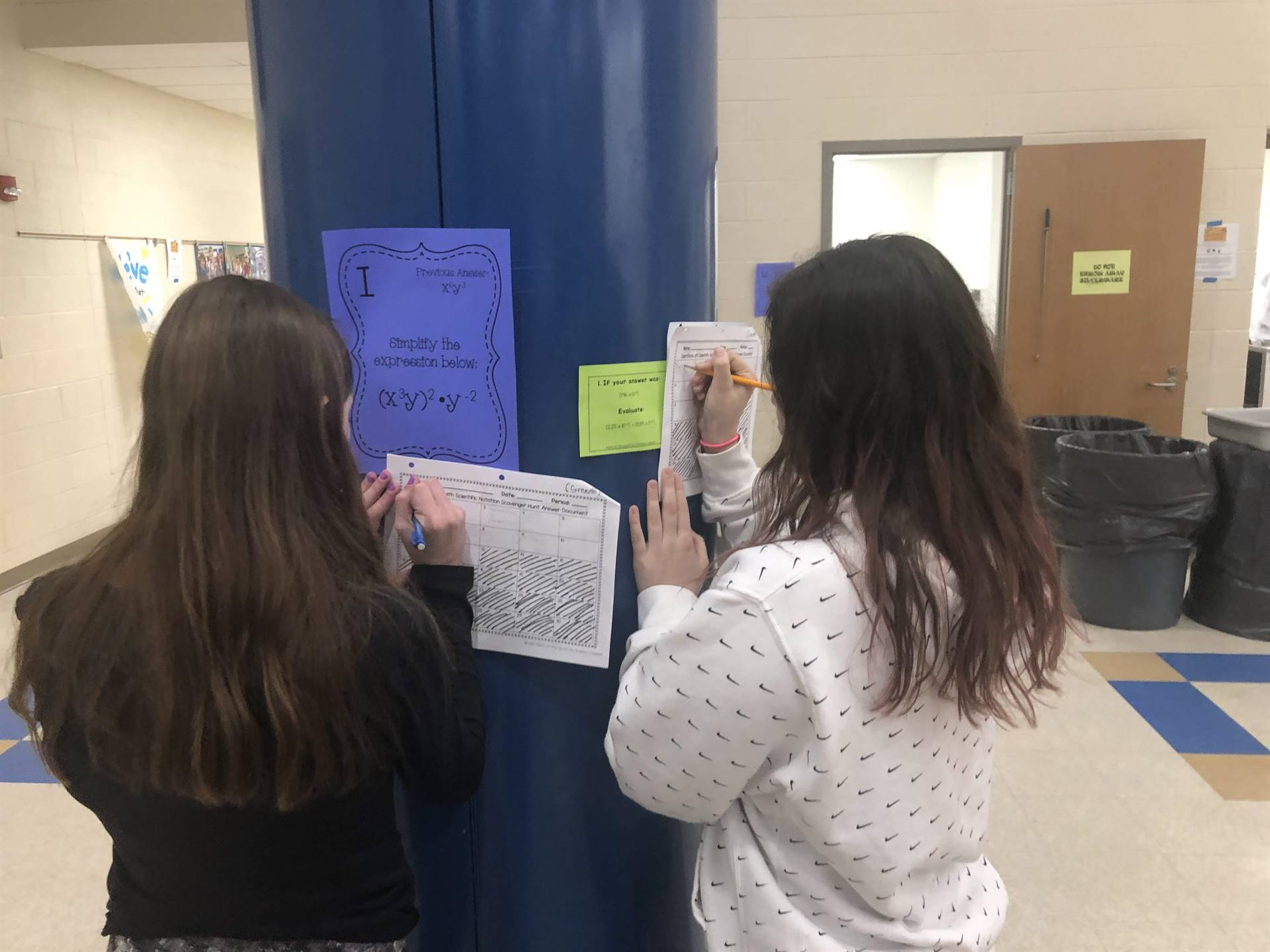 students conduct research