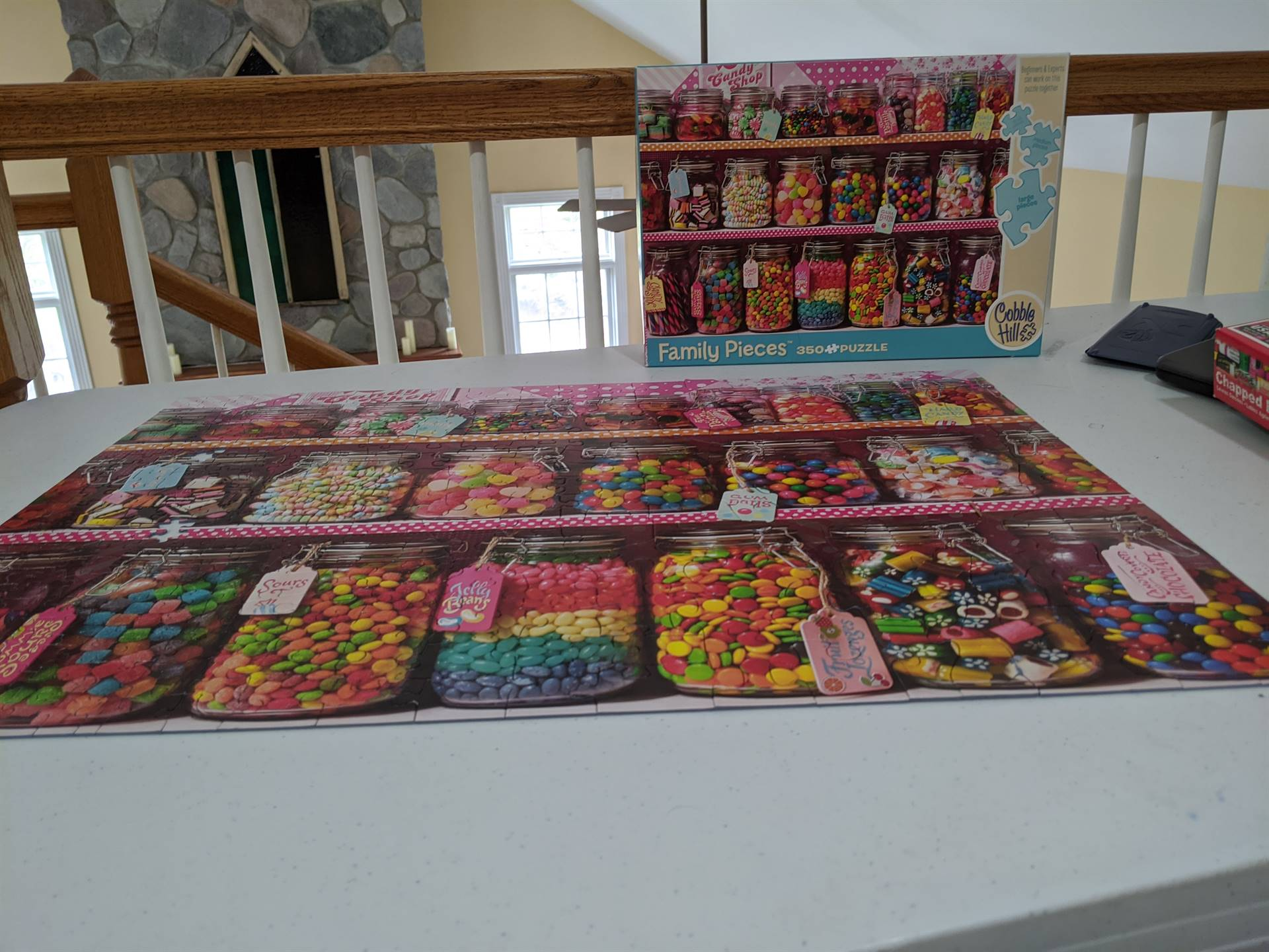 candy jars puzzle