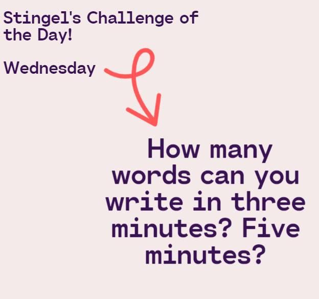 3 Wednesday Challenge
