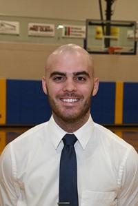 Vasrsity Assistant Coach Jake Stimpert